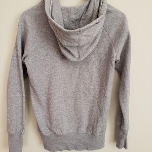 Reebok Tops - Gray Reebok Hoodie Sweatshirt